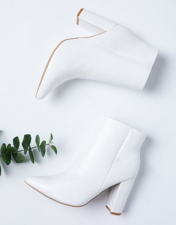Every Girl Should Have a Pair of White Heels