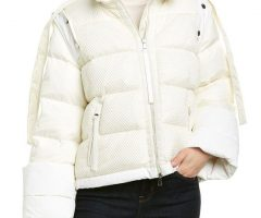 White Down Jacket, Who Wears It Looks Cute!